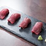 火輝 極 - 山形牛 あぶり寿司
