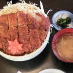 95486311 - ロースソースかつ丼ご飯大盛り
