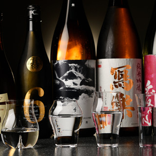 日本酒のテイクアウトも出来ます。