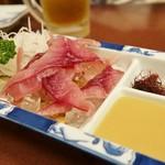 富松うなぎ屋 - 鯉のアライ★ここならでは酢味噌で美味し
