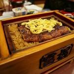 富松うなぎ屋 - セイロむし定食2,400円