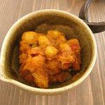 ミモリスカフェ - おやさいプレート:野菜とひよこ豆のカレー