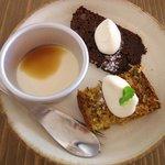 ミモリスカフェ - sweets3種盛り合わせ(+170yen)