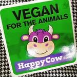 ビーガンバーガー ナーリッシュ - Veganのシール       外国人の方からいただきました!