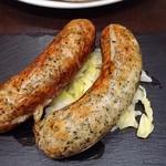 Pizzeria Salto - イタリアンソーセージ! 大ぶりです❤︎