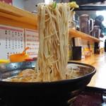 節極 - 黒豚骨740円麺アップ