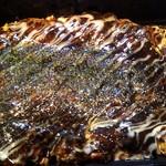 ○匠 - お好み焼きは豚玉(580円)