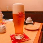 旬彩Dining ちゃくら - 何杯目かのビールです♪