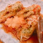 旬彩Dining ちゃくら - ちくわの磯辺揚げ出し  美味しかった^o^