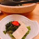 旬彩Dining ちゃくら - サラダを分けました!