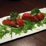 東北料理と柚のかほり 柚柚 - 冷やしトマトサラダ