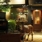 BarBies Grill - 外観 牛さんが目印