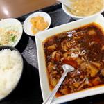 """谷記 - """"麻婆豆腐定食"""""""