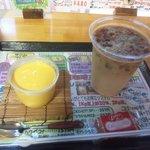サニム - コーヒーにはクッキー付き♪+マンゴープリン