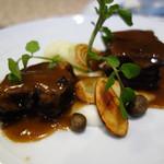 ルモンド・ガーデン - 国産豚バラ肉の赤ワイン煮。