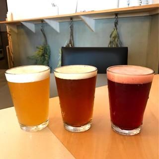 【10種類の樽生クラフトビール】