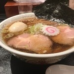 95501085 - 特製中華そば (煮干し醤油スープ)