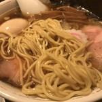 95501093 - 特製中華そば (煮干し醤油スープ)