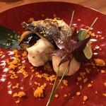 95501326 - 秋刀魚とふぐ白子巻き