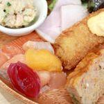 鮭バル SalmonBear - 20181029鮭バルのワンプレートランチ・アップ2