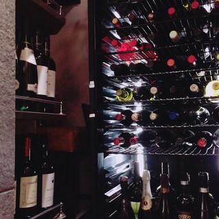 料理に合うワインをご提供