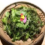 日本焼肉 はせ川 - はせ川厳選!早採り野菜のサラダ