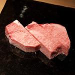 日本焼肉 はせ川 - 【お肉】和牛黒タン元