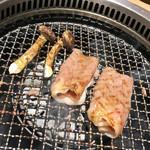 日本焼肉 はせ川 - 和牛サーロイン 網焼きすき