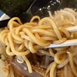 95505498 - 麺は太麺ストレート