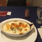 不二家レストラン - 海老とチキンのマカロニグラタン