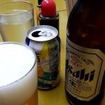 西田酒類販売 - 大瓶ビールとチューハイ