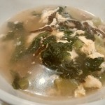 七輪焼肉 安安 - 安安スープ