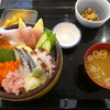 山海里 - 料理写真:漁師投げ込み丼1250円