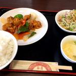 95508865 - 酢豚定食