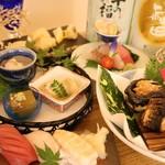 鮨と日本酒の奢酌楽 -