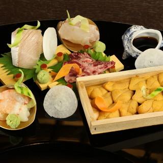 上質な魚介だけを使った魚料理を、お客様に合わせた料理法で