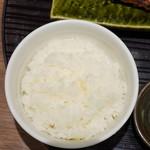 うなぎ 四代目 菊川 - ご飯