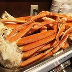 蟹奉行 - ホカホカの蒸し蟹