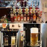蟹奉行 - ビールはオートサーバー。楽しい♪