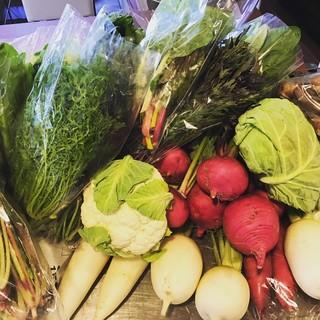 ◆大分県「佐藤自然農園」から旬の野菜を直送