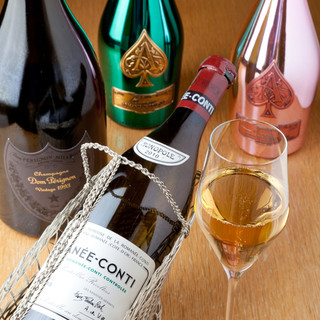多彩なワインと天ぷらのマリアージュには新たな発見がきっとある