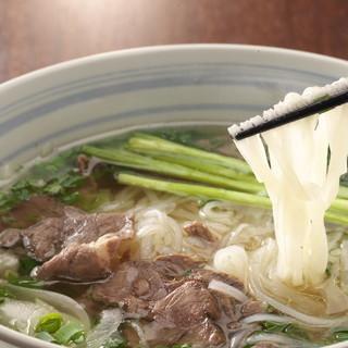 『ベトナム麺特集』S・Mサイズあり。さっぱりとした後味が魅力