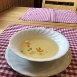 カフェレストランおきらく亭 - スープ