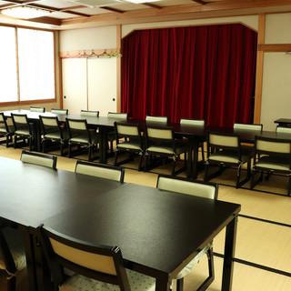 <最大80名様>までご利用可能な宴会場は、様々なイベントに◎