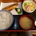ます道庵 - 魚のくんせい定食