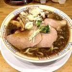 サバ6製麺所 - サバ醤油そば(700円)