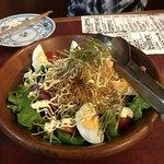 95518251 - 海鮮サラダ。美味しいしボリューミー!680円