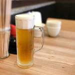 白金魚食堂 - ビール