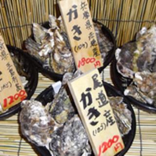 全国の牡蠣食べ比べできますよ!