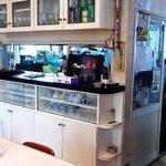 村田食堂 - 調理場が見える